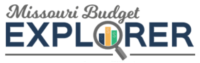 Click here to link to the Missouri Budget Explorer Page